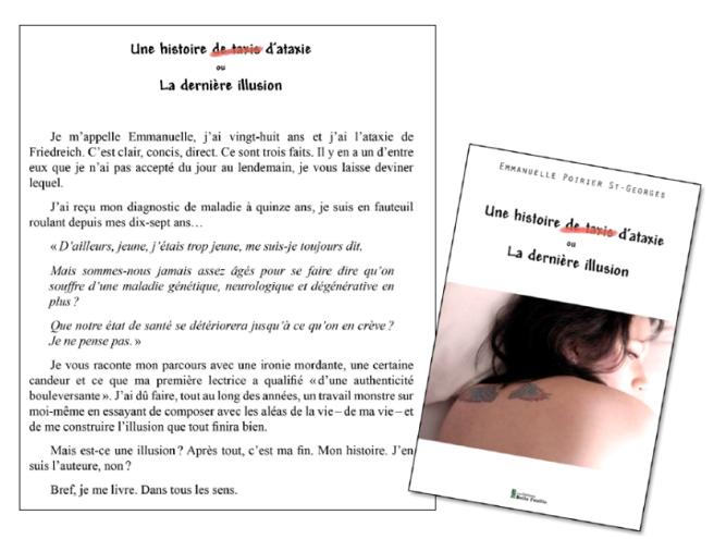 Emmanuelle Poirier-St-Georges-Une histoire-dataxie-ou-la-dernière illusion
