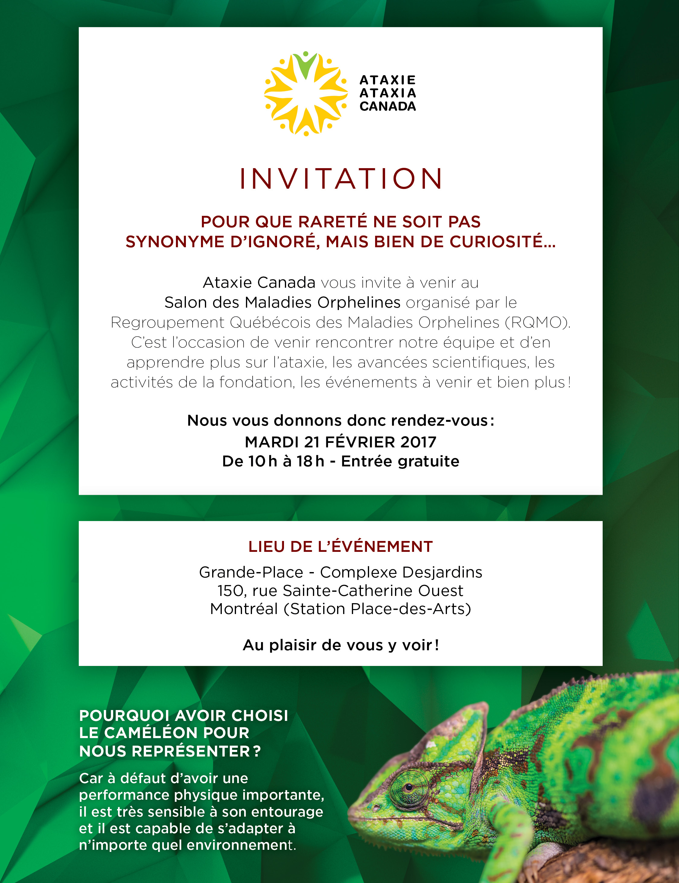 Invitation au Salon des maladies orphelines-VF